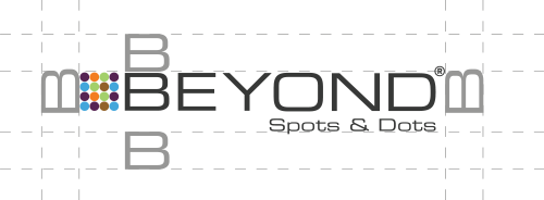 Beyond Spots & Dots | Logo Clear Space